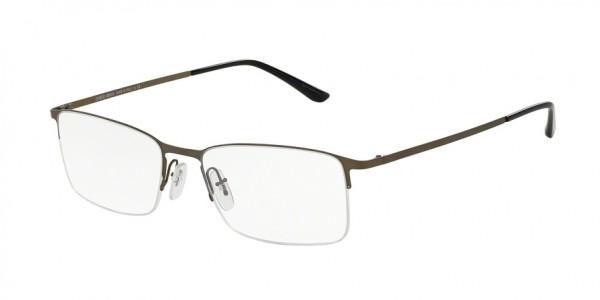 Giorgio Armani AR5010 3037 Mt Brushed Golden Gunmt, Size 54mm Eyeglasses