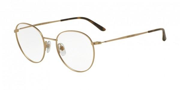 Giorgio Armani AR5057 3002 Matte Pale Gold, Size 47mm Eyeglasses