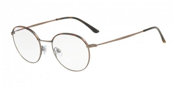 Giorgio Armani AR5070J 3006 Brown Havana/Matte Bronze, Size 49mm Eyeglasses