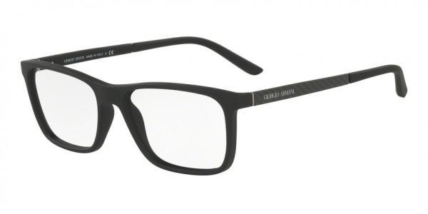 Giorgio Armani AR7104 5063 Black Rubber, Size 55mm Eyeglasses