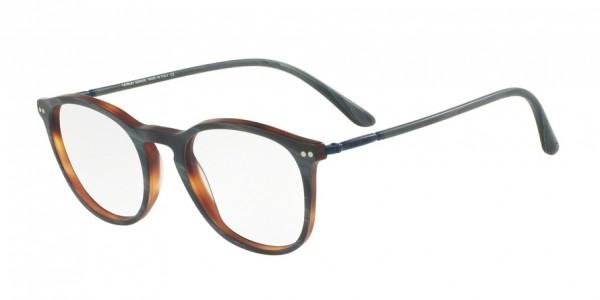 Giorgio Armani AR7125 5570 Matte Grey Horn, Size 50mm Eyeglasses