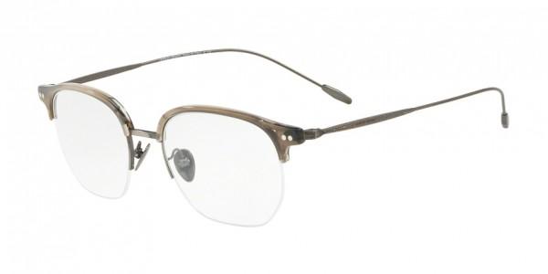 Giorgio Armani AR7153 5659 Striped Grey, Size 51mm Eyeglasses