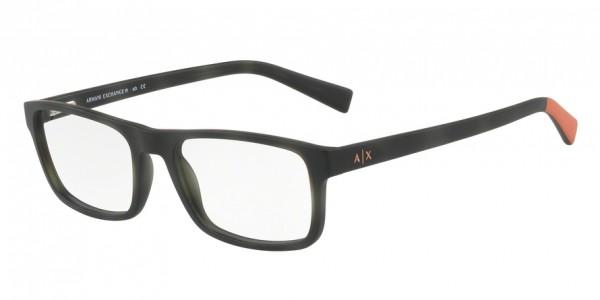 Exchange Armani AX3046F Rectangle Eyeglasses