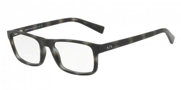 Exchange Armani AX3046F 8229 Matte Grey Havana, Size 56mm Eyeglasses