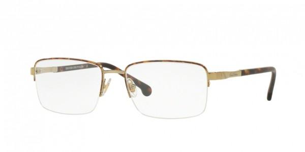 Brooks Brothers BB1044 1001 Gold, Size 56mm Eyeglasses