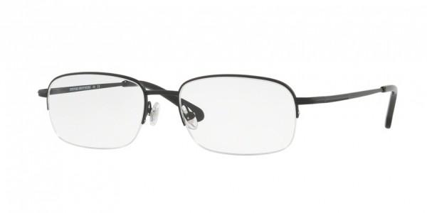 Brooks Brothers BB 487T BB 487T 1502T Matte Black, Size 54mm Eyeglasses