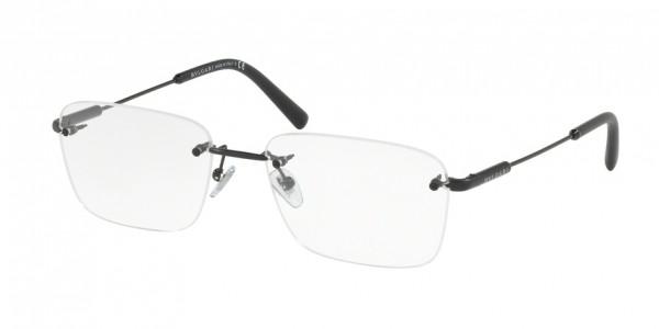 Bvlgari BV1097 128 Matte Black, Size 56mm Eyeglasses