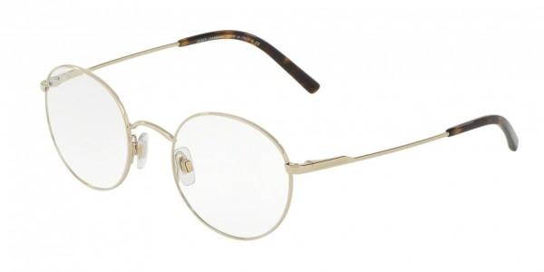 Dolce & Gabbana DG1290 488 Pale Gold, Size 48mm Eyeglasses