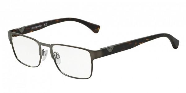 Emporio Armani EA1027 3003 Matte Gunmetal, Size 55mm Eyeglasses