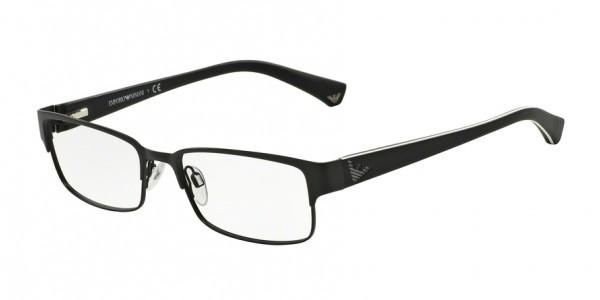 Emporio Armani EA1036 3109 Matte Black, Size 53mm Eyeglasses
