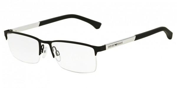 Emporio Armani EA1041 3094 Black Rubber, Size 53mm Eyeglasses