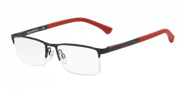 Emporio Armani EA1041 3109 Black Rubber, Size 53mm Eyeglasses