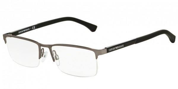 Emporio Armani EA1041 3130 Gunmetal Rubber, Size 55mm Eyeglasses