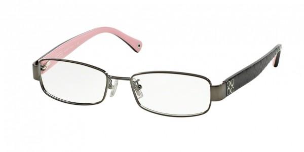 Coach TARYN HC5001 9021 Dark Silver, Size 52mm Eyeglasses