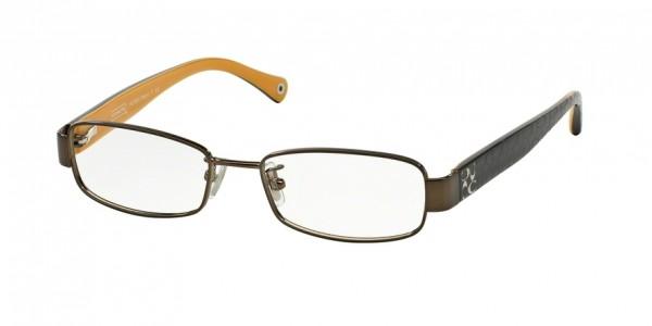Coach TARYN HC5001 9023 Dark Brown, Size 52mm Eyeglasses