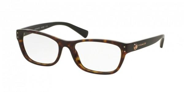 Coach HC6082 Rectangle Eyeglasses