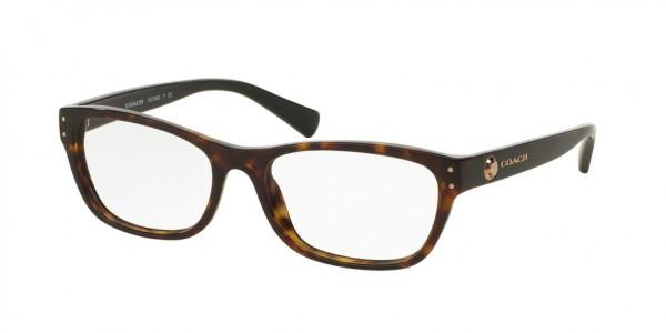 Coach HC6082F Rectangle Eyeglasses