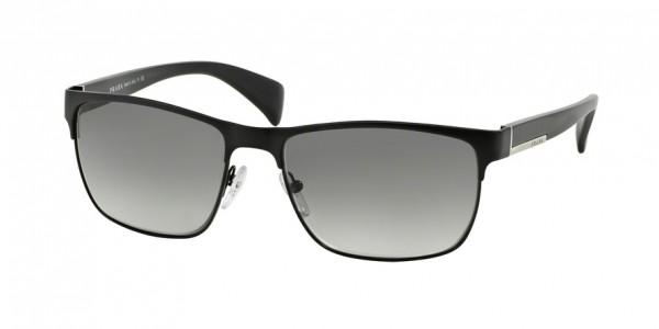 Prada CONCEPTUAL PR 51OS FAD3M1 Matte Black/Black Frame/Gray Gradient Lens, Size 58mm Sunglasses