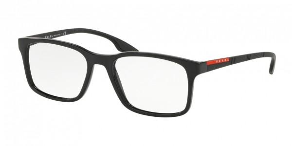 Prada Linea Rossa LIFESTYLE PS 01LV 1AB1O1 Black, Size 52mm Eyeglasses
