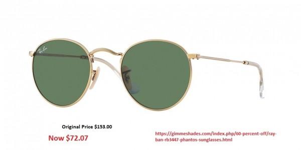 Ray-Ban RB3447 Phantos Sunglasses