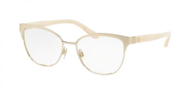 Ralph Lauren RL5099 9169 Light Shiny Gold, Size 55mm Eyeglasses