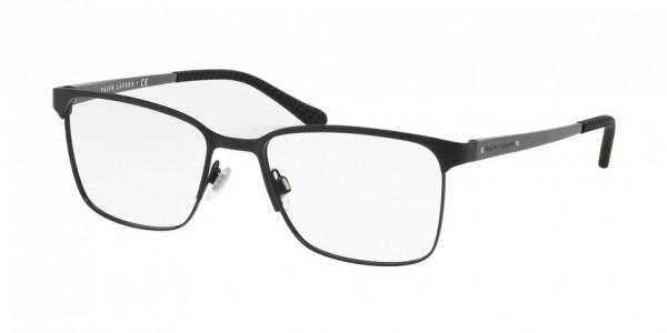 Ralph Lauren RL5101 9038 Matte Black, Size 55mm Eyeglasses