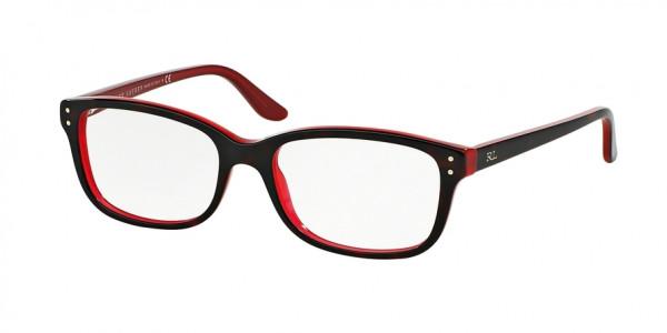 Ralph Lauren RL6062 5255 Top Havana / Red, Size 52mm Eyeglasses