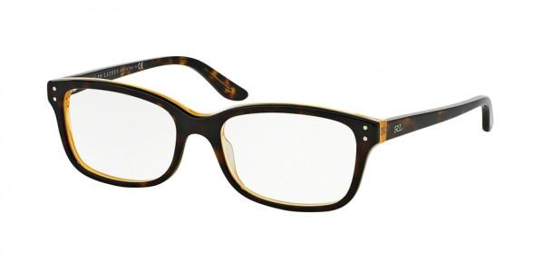 Ralph Lauren RL6062 5277 Havana/Yellow, Size 52mm Eyeglasses