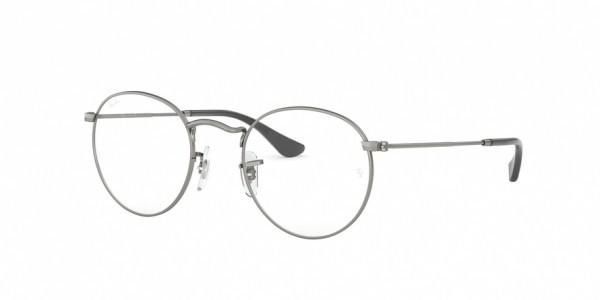 Ray-Ban ROUND METAL RX3447V 2620 Matte Gunmetal, Size 47mm Eyeglasses