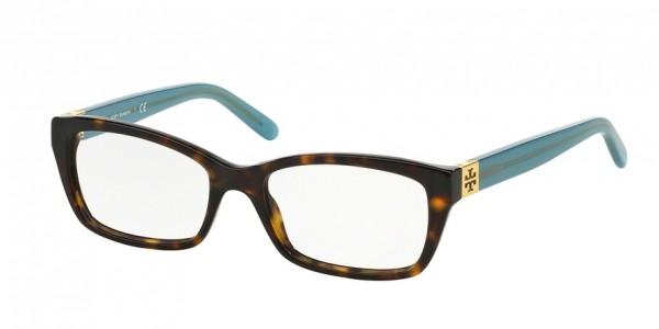Tory Burch TY2049 1359 Tortoise Milky Fountain, Size 51mm Eyeglasses