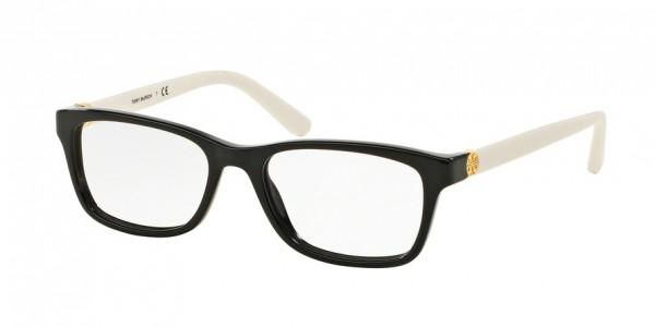 Tory Burch TY2061 3149 Black/Ivory, Size 51mm Eyeglasses