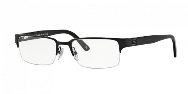 Versace VE1184 1261 Matte Black, Size 53mm Eyeglasses