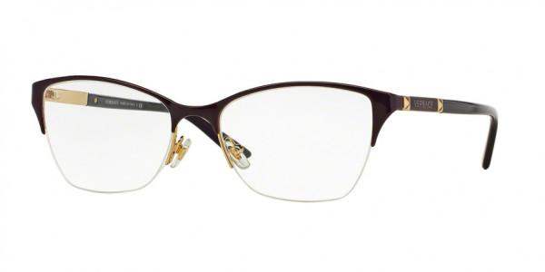 Versace VE1218 1345 Violet/Gold, Size 53mm Eyeglasses
