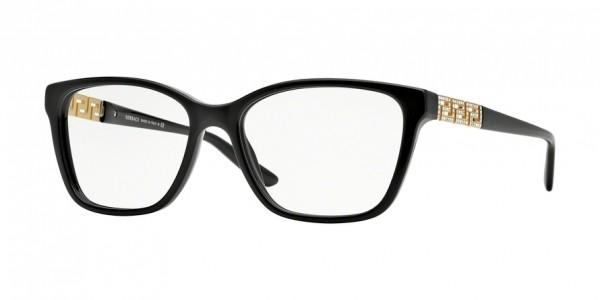 Versace VE3192B GB1 Black, Size 54mm Eyeglasses