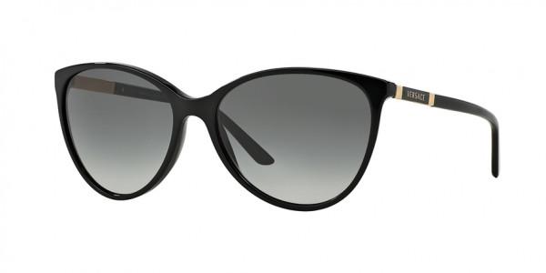 Versace VE4260 GB1/11 Black Frame/Gray Gradient Lens, Size 58mm Sunglasses