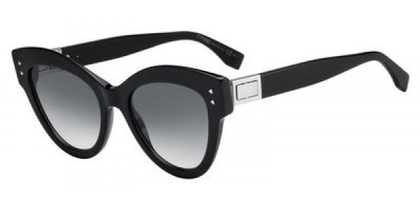 Fendi 0266/S Cat Eye/Butterfly Sunglasses