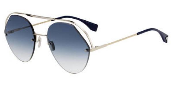 Fendi 0326/S Aviator Sunglasses
