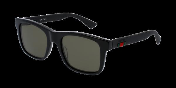 Gucci GG0008S Rectangular Sunglasses