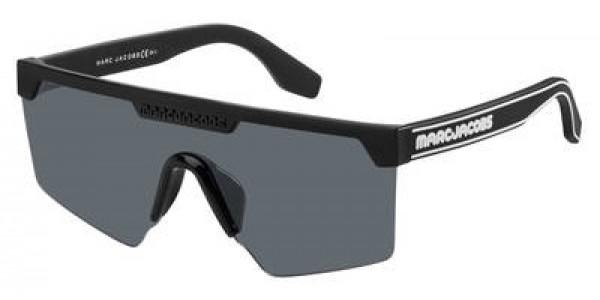 Marc Jabos MJ 355/S 0807/IR Black Gray Blue, Size 99mm Sunglasses