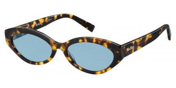 Max Mara Slim I Oval Modified Sunglasses